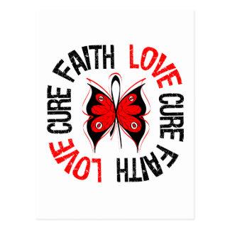 Faith Love Cure Heart Disease Postcard