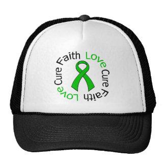 Faith Love Cure Traumatic Brain Injury Trucker Hat