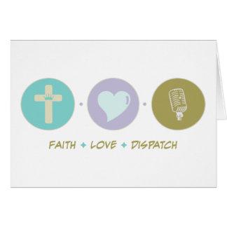 Faith Love Dispatch Card