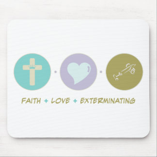 Faith Love Exterminating Mouse Mats