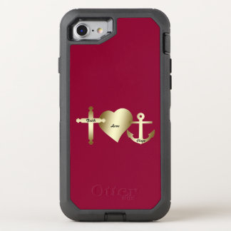 Faith Love Hope iPhone 7 Case