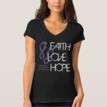 Faith Love Hope - Relay For Life Shirt