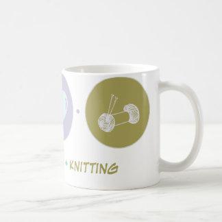 Faith Love Knitting Coffee Mug