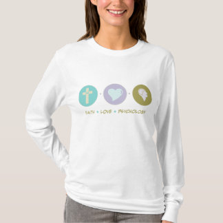 Faith Love Psychology T-Shirt