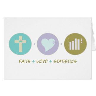 Faith Love Statistics Card