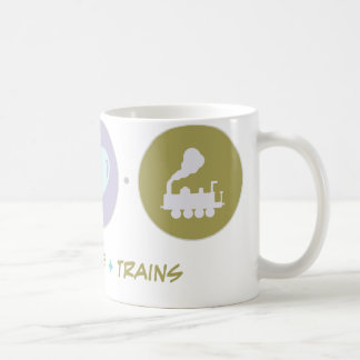 Faith Love Trains Basic White Mug