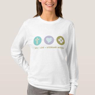 Faith Love Veterinary Medicine T-Shirt