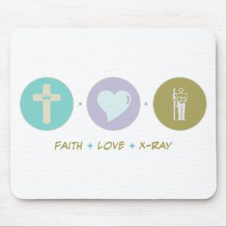 Faith Love X-Ray Mouse Pads