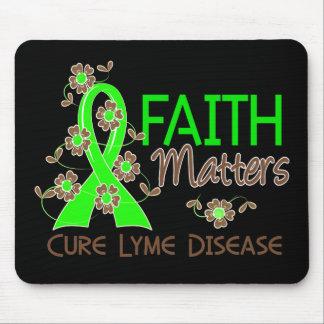 Faith Matters 3 Lyme Disease Mouse Pads