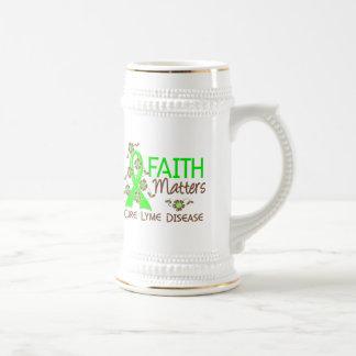 Faith Matters 3 Lyme Disease Coffee Mugs