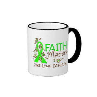 Faith Matters 3 Lyme Disease Ringer Mug