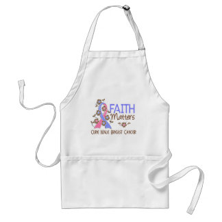 Faith Matters 3 Male Breast Cancer Standard Apron
