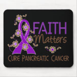 Faith Matters 3 Pancreatic Cancer Mouse Pad
