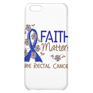 Faith Matters 3 Rectal Cancer iPhone 5C Cases