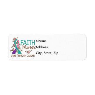 Faith Matters 3 Thyroid Cancer Return Address Label