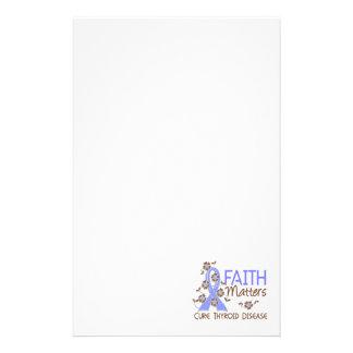 Faith Matters 3 Thyroid Disease Custom Stationery