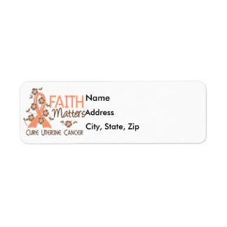 Faith Matters 3 Uterine Cancer Return Address Label