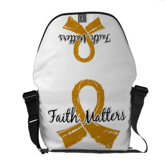 Faith Matters 5 Appendix Cancer Courier Bag
