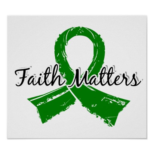 Faith Matters 5 Bile Duct Cancer Poster