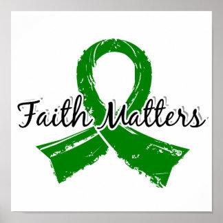 Faith Matters 5 Bile Duct Cancer Print
