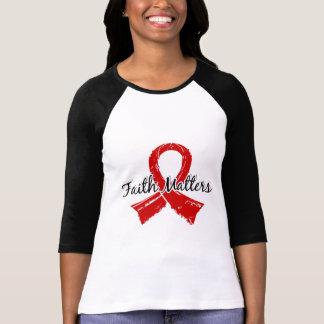 Faith Matters 5 Blood Cancer Tshirt