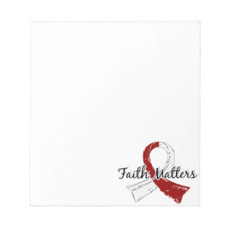 Faith Matters 5 Head and Neck Cancer Note Pads