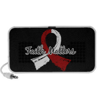 Faith Matters 5 Head and Neck Cancer Portable Speakers
