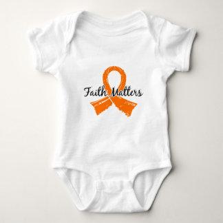 Faith Matters 5 Leukemia Baby Bodysuit