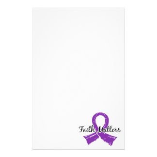 Faith Matters 5 Lupus Personalized Stationery