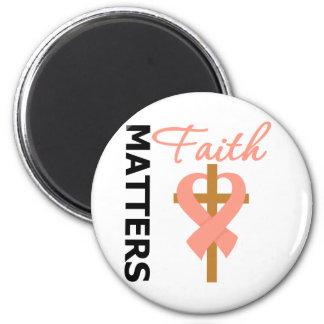 Faith Matters Endometrial Cancer Fridge Magnet