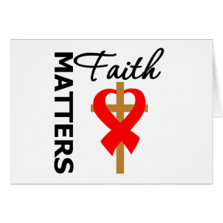 Faith Matters Stroke Disease Greeting Card