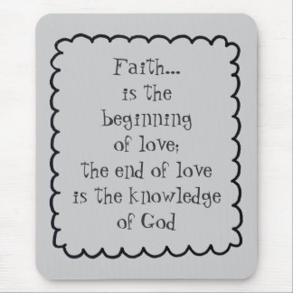 Faith Mouse Pad
