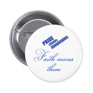 faith-moves-mountains Christian design Button
