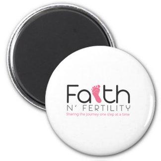 Faith N Fertility 6 Cm Round Magnet