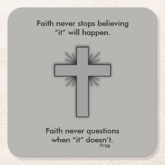 Faith Never Coasters w/Gray Flared cross