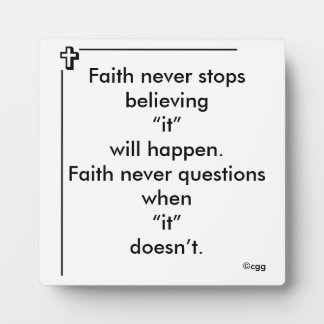Faith Never Photo Plaque
