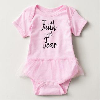 Faith not Fear Baby tutu shirt