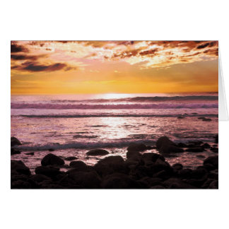 Faith on Fire Seascape Expressions Card