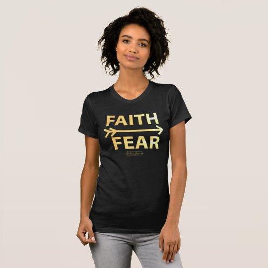 Faith over Fear- Black T-shirt