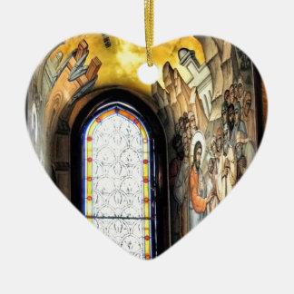 Faith Path Ceramic Heart Decoration