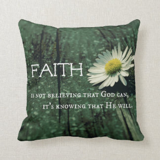 Faith Quote Cushion
