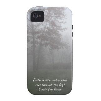 Faith sees through fog iPhone 4/4S case
