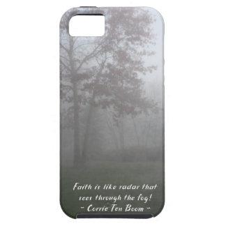 Faith sees through fog iPhone 5 cases