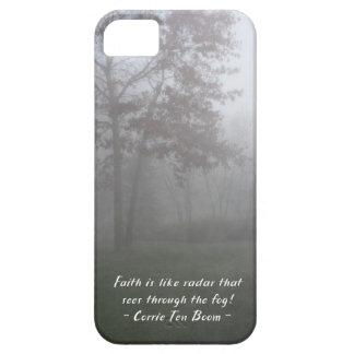 Faith sees through fog iPhone 5 covers