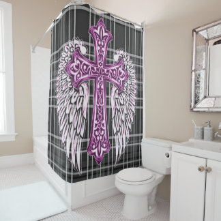 Faith Stands Out Shower Curtain