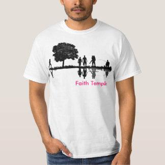 Faith Temple t Shirts