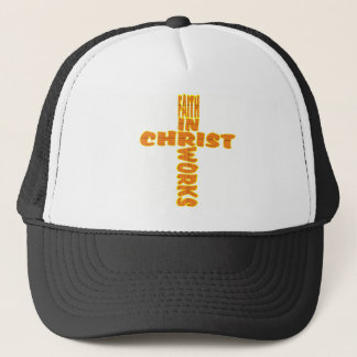 Faith Works Cross Trucker Hat