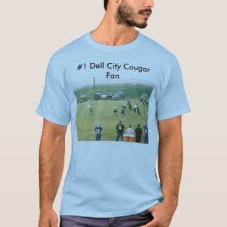 faithdrive, #1 Dell City Cougar Fan T-Shirt