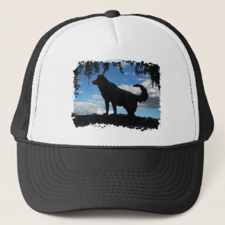 Faithful dog trucker hat