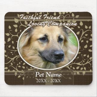 Faithful Friend Custom Pet Sympathy Mousepad
